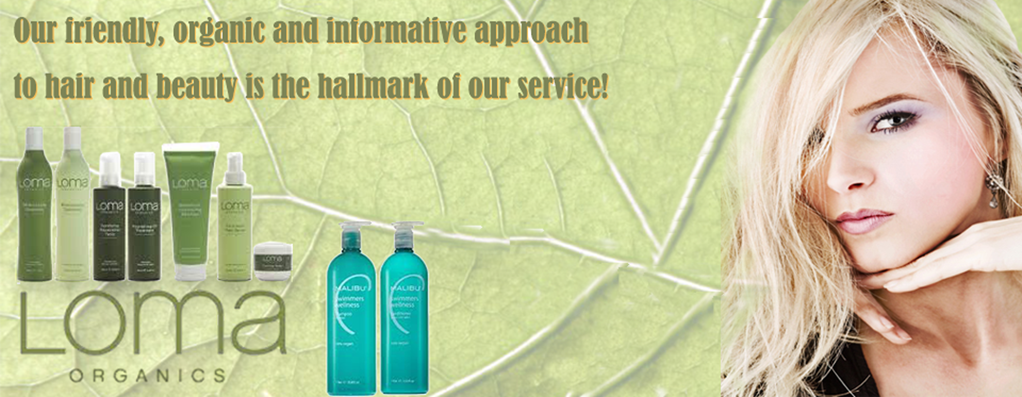 Euphoria Organic Hair Salon Products